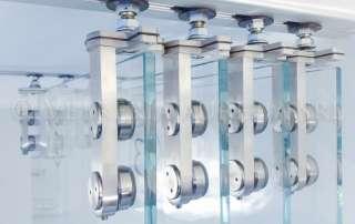 sistema scorrevole Manet Dorma vetro extrachiaro