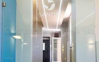 parapetto interno ufficio Sanofi Aventis