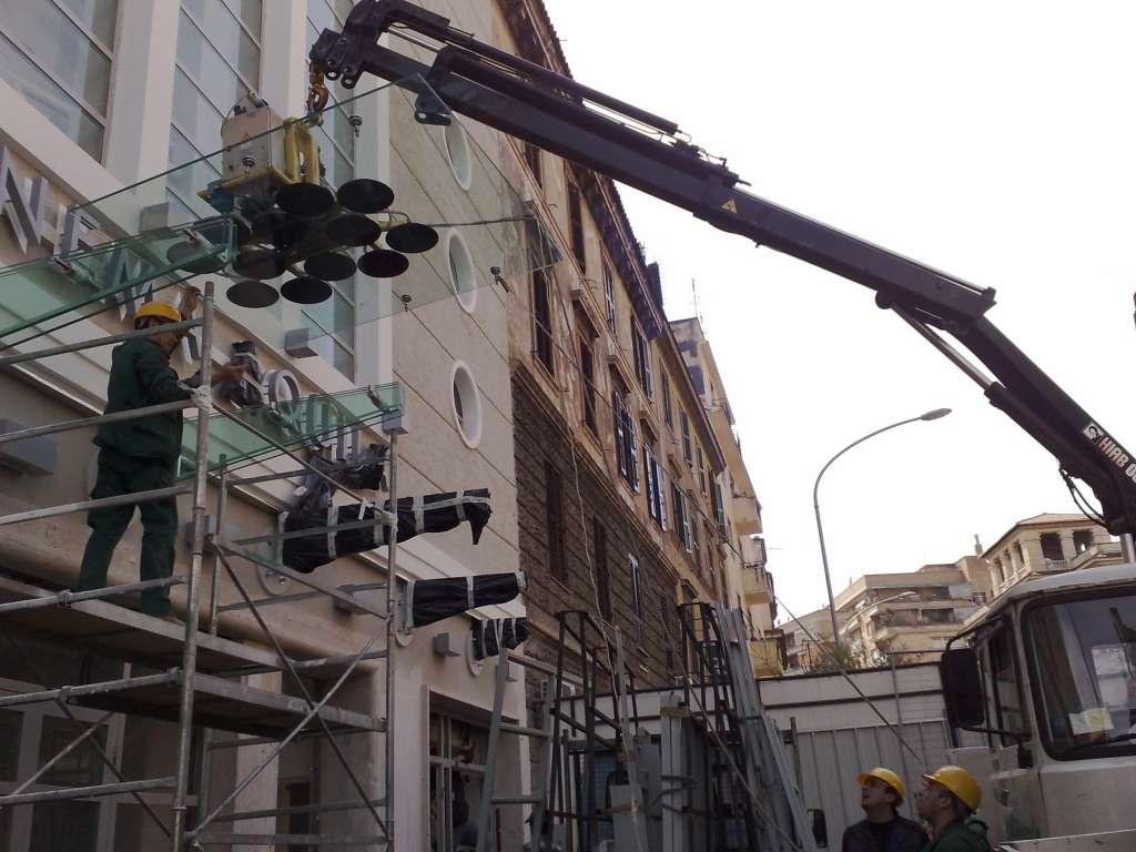Completamento lavori esterni Cinema Aquila Roma 2006